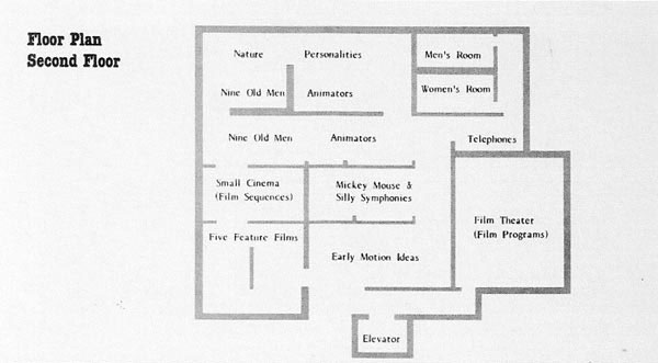 Whitney second floor plan